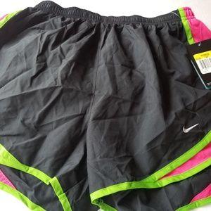 Nike Dri-Fit Running Shorts Black Women's Sz Small